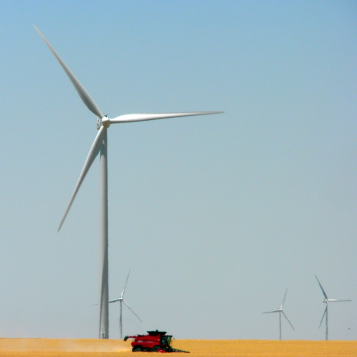 Wind and agriculture are powerful economic allies.